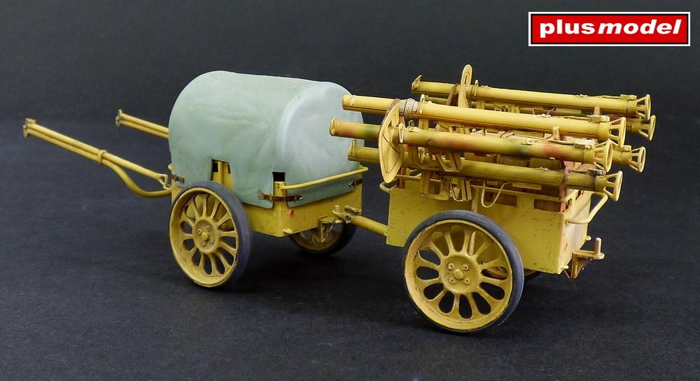 Německý muniční vozík If.8-1