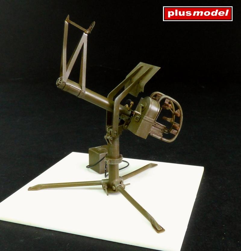 U.S. Těžký kulomet cal .50 protiletadlový -1