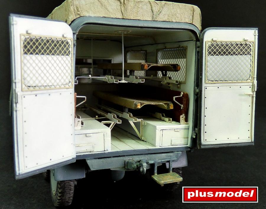Německá ambulance Kfz. 31-2
