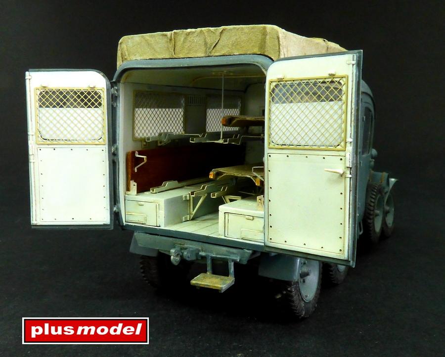 Německá ambulance Kfz. 31-3