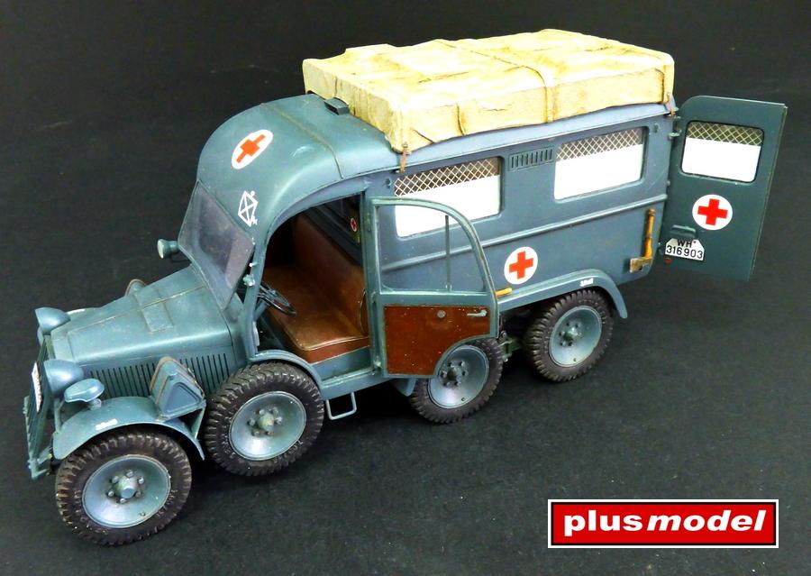Německá ambulance Kfz. 31-4
