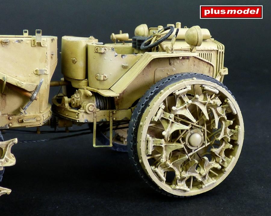 Dělostřelecký tahač Pavesi P4-100 model 30A-4