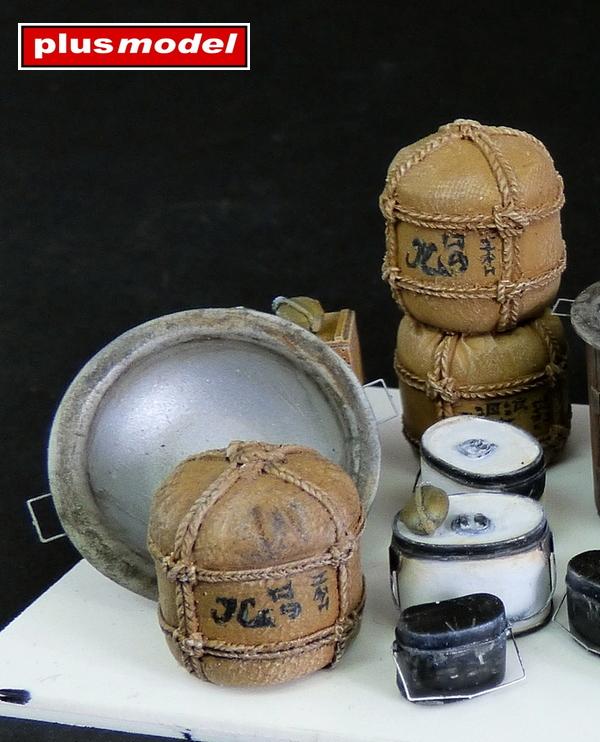 Vybavení japonské polní kuchyně -1