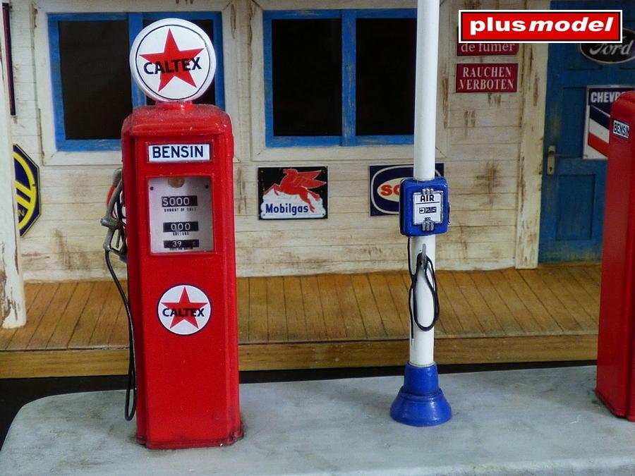 Benzínová pumpa -1