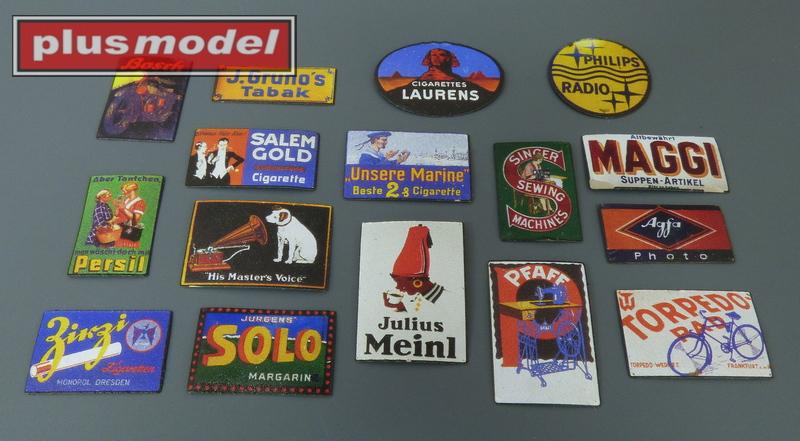 Plechové reklamní cedule Německo 30 a 40leta  -1