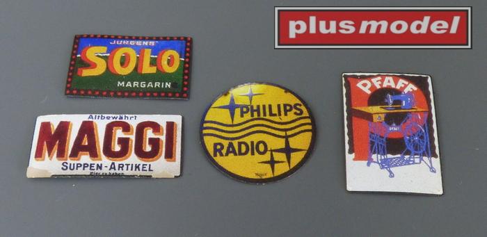 Plechové reklamní cedule Německo 30 a 40leta  -2
