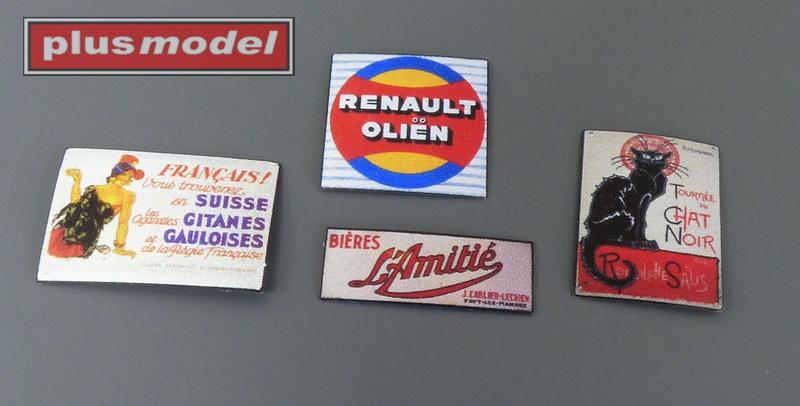 Plechové reklamní cedule Francie 30 a 40leta-3