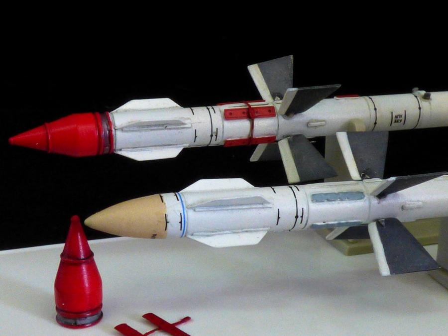 Ruská raketa R-27R AA-10 Alamo-A -1