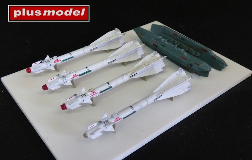 Ruská raketa R-60 s dvojitým závěsníkem-1