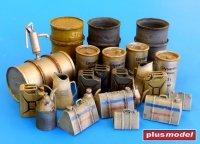Vybavení skladiště pohonných hmot,Německo WWII.