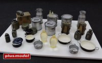 Vybavení německé kuchyně-nádobí, WWII.