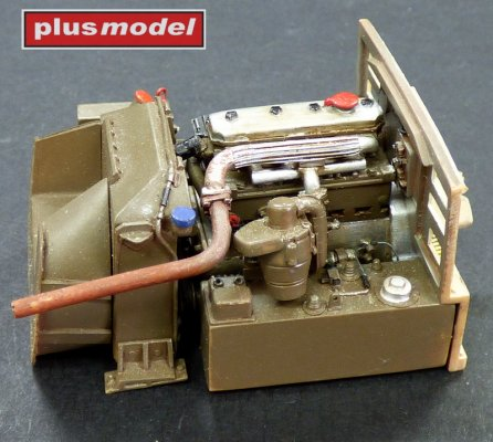 Engine set for Pzkpfw 38 (t)