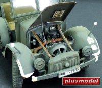 Krupp Protze-motorový set