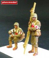 U.S. Soldiers, WWII - Orderlies