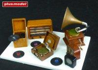 Gramofony a rádia
