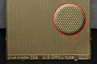 Engraved plate - U.S. Grill