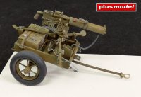 U.S. handcart M3A1 with Browning 0,3