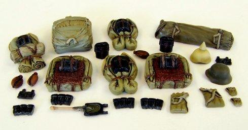 Německé batohy WW I