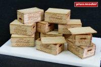 US dřevěné bedny na lahve