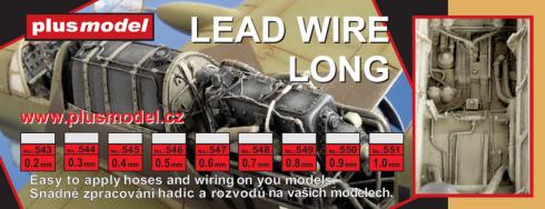 Lead wire 0,2 mm long