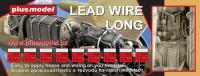 Lead wire 0,8 mm long