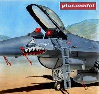Žebřík pro F-16 A/C