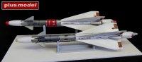 Ruská raketa R-40TD AA-6 Acrid