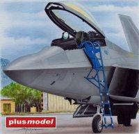 Schůdky pro F-22