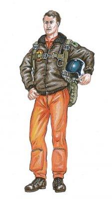 Pilot F-106 Delta Dart