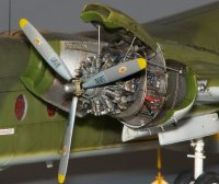 DHC-4 Caribou - Engine set