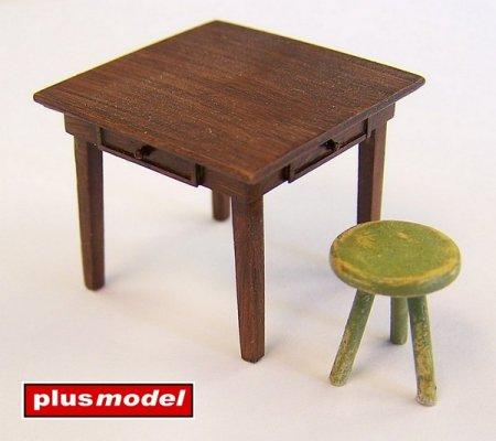 Stůl a stolička