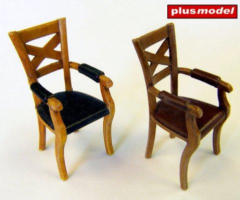 Židle s opěrkama